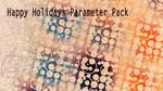 Happy Holidays Param Pack v2016 by tatasz