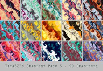 Gradient Pack 5 by tatasz