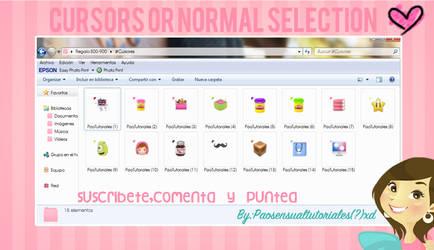 Cursores de la normal seleccion by PaoTutoriales