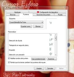 Cursor Esfera by PaoTutoriales