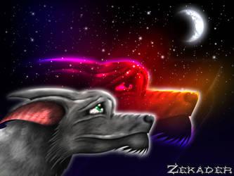 Silver Night -- zekader by draekards