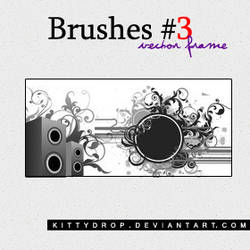 Brushes 3 - Vector Frame by kittydrop
