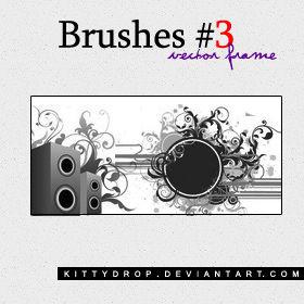 Brushes 3 - Vector Frame