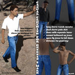 Casual clothing for Genesis 8 Males