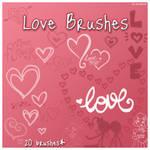 Love brushes by stardixa
