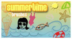 Summertime brushes