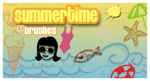 Summertime brushes by stardixa