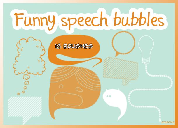 Funny speech bubbles by stardixa