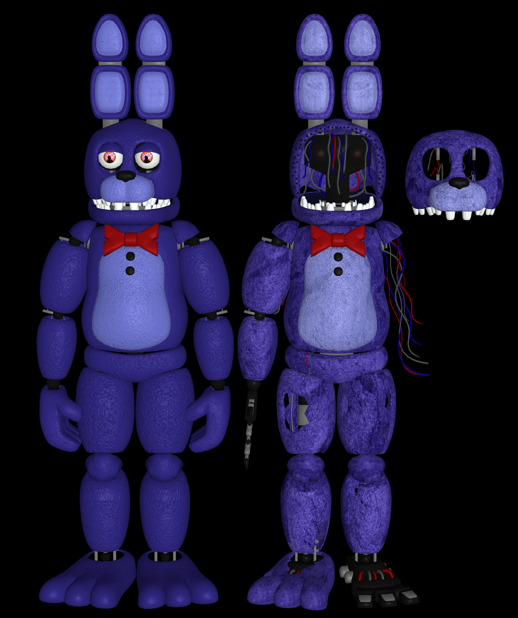 Fnaf 2 Bonnie Pack By RealMoonlight On DeviantArt