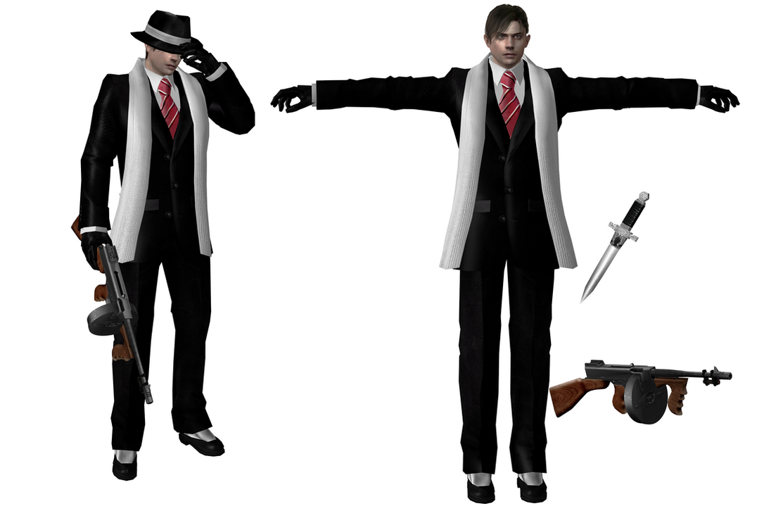 Leon Mafia GMOD Playermodel Port/Reskin: for Mafia RP