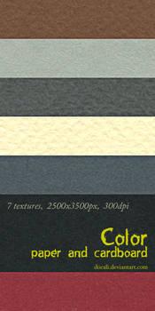 Color Paper + Cardboard Pack01