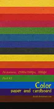 Color Paper + Cardboard Pack02