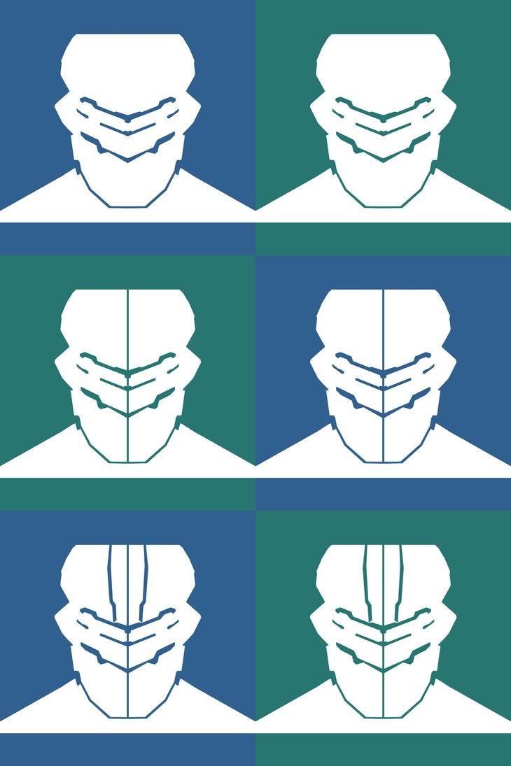 Dead Space Metro Icon Set by ThePandaPredator