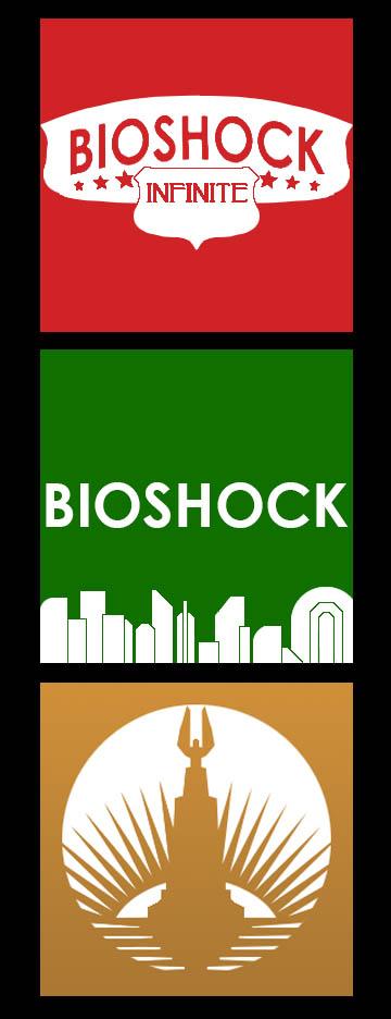 Bioshock Icons by ThePandaPredator