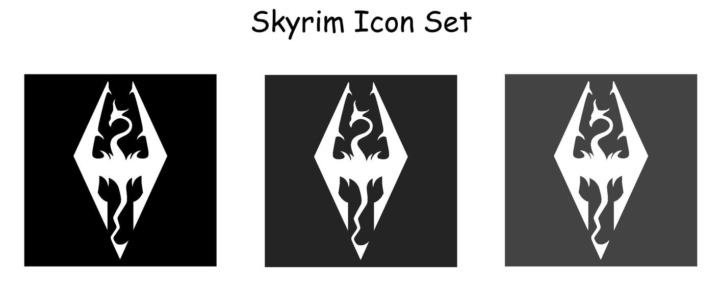 Displaying 20> Images For - Skyrim Shortcut Icon...