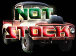Old Truck Stock - Transparent Background