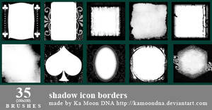 35 shadow borders brushes