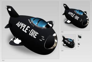Sabre Apple by minimamente