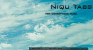 Niqu Tabbed Objectdock Skin by zephizimer