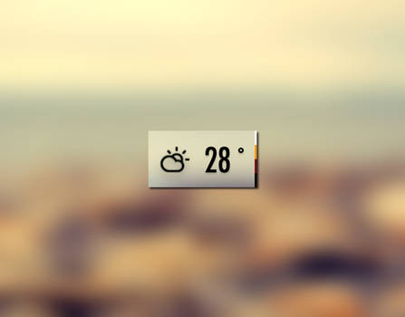 Custom Weather Icon (using Climacons)