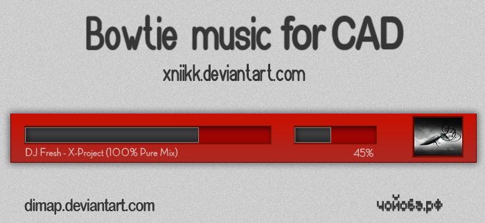 Bowtie Music for CAD by dimap