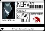 NERV Card -NGE-