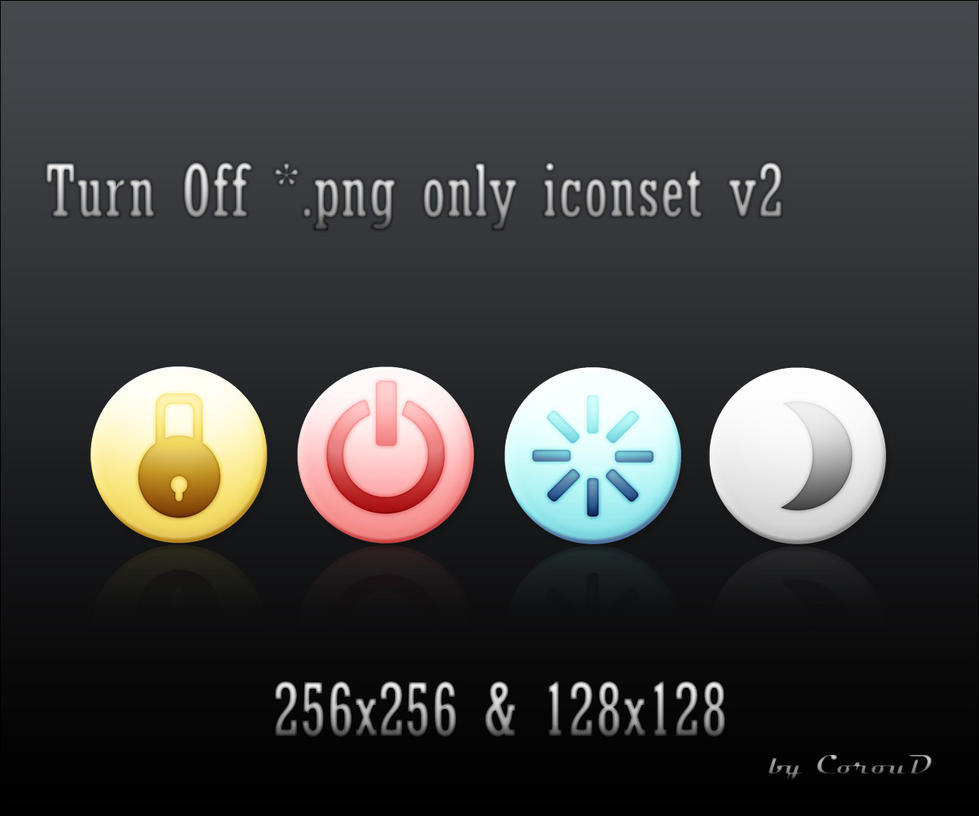 Power Iconset v2 by CorouD