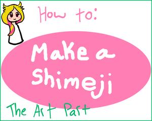 Make a Shimeji (Part1 the art)