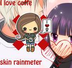 I love coffe rainmeter skin
