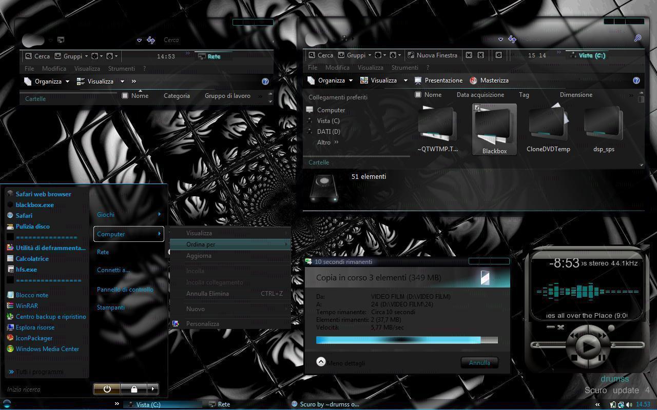 ][ اروع الثيمات للفيستا 2009 - Vista Themes 2009 ][ Scuro_by_drumss