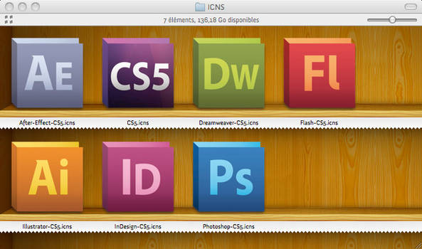 Adobe CS5 icons Official