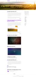 Pandastic* - PSD Blog template FREE