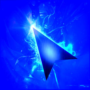 Shiny Blue Cursors by Arcanev
