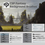 Free Clip Studio paint Fantasy Brush Set