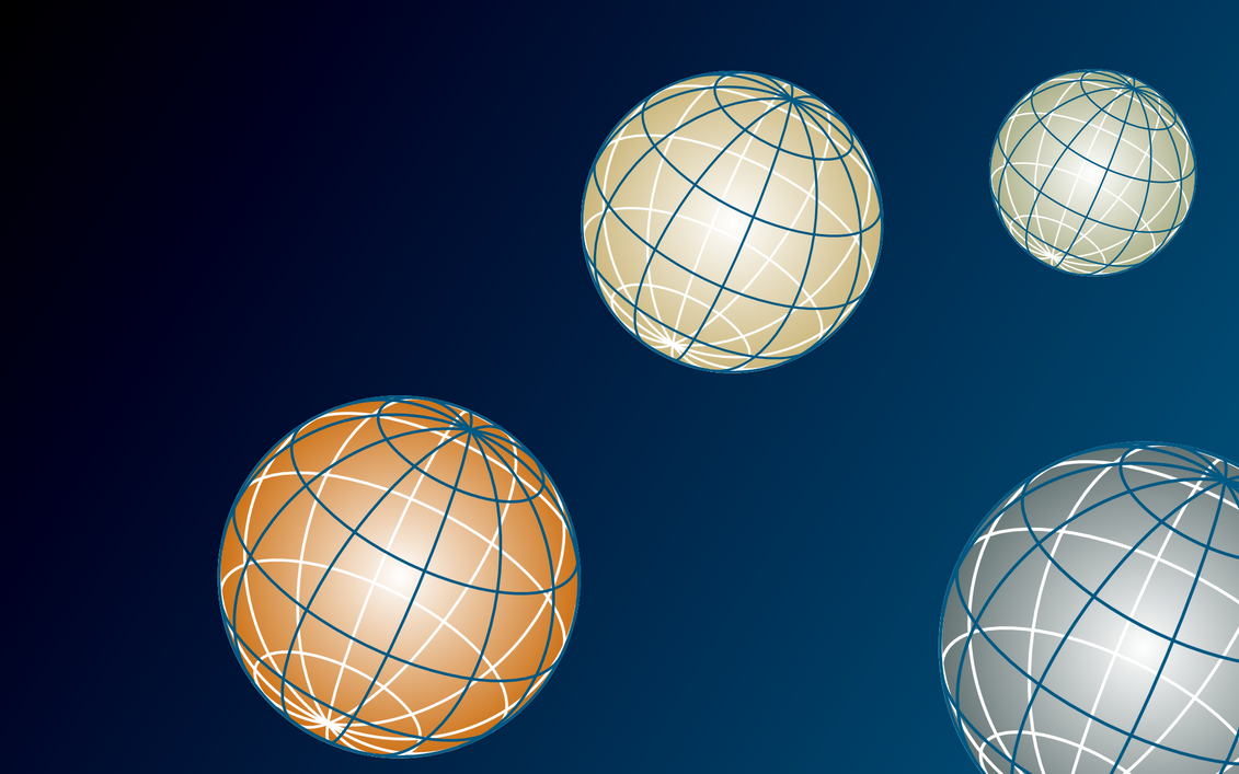 SVG Planet Background by MirainoHikari