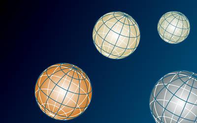 SVG Planet Background