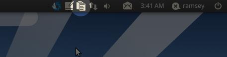 Ubuntu Mono Parcellite Icon