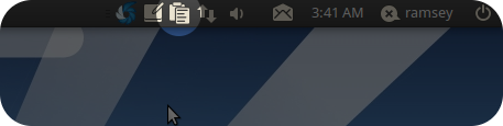 Ubuntu Mono Parcellite Icon by Ramzea