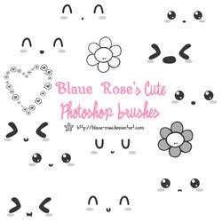 Blaue Rose's Cute Brushes 1 by Blaue-Rose