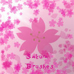 Sakura Brushes by SakuraYagami