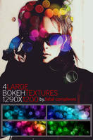 4 large bokeh textures by fatal-complexes