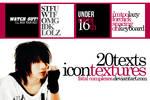 set 24 - 20 text textures
