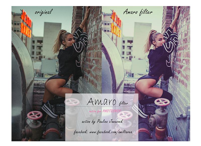 Amaro filter action by Amiltarea