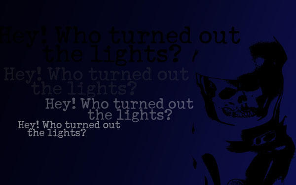 hey who turned out the lights by tibots