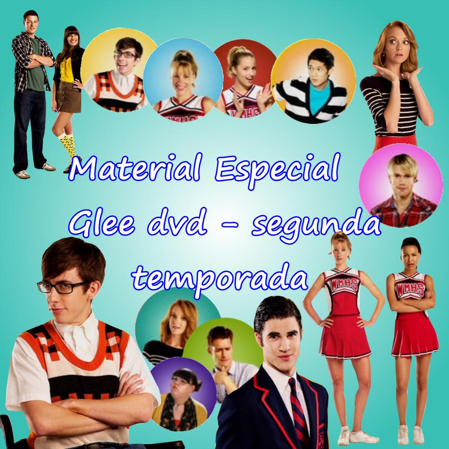 Season 2 Glee Pack Png Glee Dvd Season 2 by
