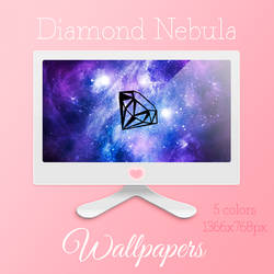 Diamond Nebula Wallpapers by MariMysteria
