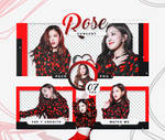 PACK PNG ROSE (BP) - CONCERT //HANNAK