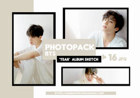 PHOTOPACK BTS - TEAR VER.U  ALBUM SKETCH // HANNAK by hannavs999