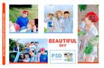 PSD COLORING BEAUTIFUL SKY // HANNAK