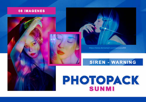 PHOTOPACK SUNMI - WARNING CONCEPT // HANNAK